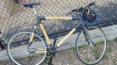 Bamboo bike! Light...and ineresting looking