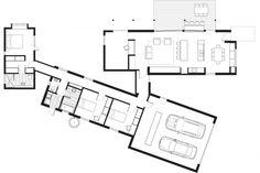 12 Ideas container house plans passive solar for Prefab-ulous Passive Solar Home Proves a De-light to Live . The Plan, How To Plan, Passive House Design, Modern House Design, Modular Home Floor Plans, House Floor Plans, Prefab Homes, Modular Homes, House Plans Australia