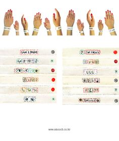 스무치 _ 핸드메이드 패브릭 팔찌 _ INDIAN MESSAGE BRACELET   #smooch #handmade #customjewelry #handmadecustom #fabricbracelet #stitch #sewing #needlework #message #bracelet
