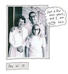 Roz Chast explores her relationship with her parents in her graphic memoir. Photograph: Roz Chast