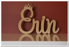 Erin Name, Scrabble Art, Name Wall Art, Wooden Names, Christening, Special Events, Symbols, Letters, Engagement