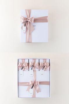 Our deluxe gift boxes can be styled two ways. Romantic Dinner Tables, Romantic Dinners, How To Exfoliate Skin, Lavender Buds, Small Gift Boxes, Hang Tags, Corporate Gifts, Flower Petals, Thank You Gifts