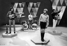 John Entwistle, Keith Moon, Roger Daltrey, Pete Townshend of The. Great Bands, Cool Bands, Bands On Tour, Tv Center, John Entwistle, Keith Moon, Pete Townshend, Roger Daltrey, Bbc Tv