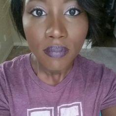 Vampy lip (mac cyber lipstick)