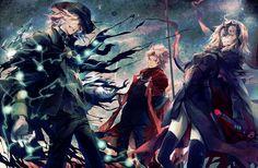 Shirou Kotomine / Alter Jeanne D'arc / Edmond Dantés【Fate】