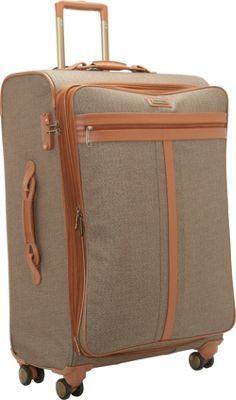 "Hartmann Luggage Herringbone 28"" Exp. Spinner CLOSEOUT Terracotta Jacquard - via eBags.com!"