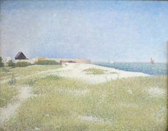 Georges Seurat「View of Fort Samson」(1885)