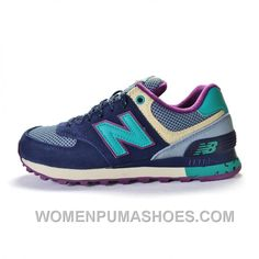 New Balance 574 2016 Women Blue Best Xky44Bk