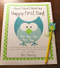 Just pinned this for the picture of the owl.  I could make this cute owl out of 4 circles and a diamond shape.