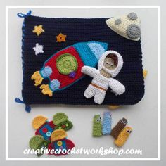 OUT IN SPACE CROCHET PLAYBOOK|CREATIVE CROCHET WORKSHOP\INTRODUCTION