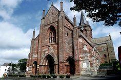 Scottish Islands -St Magnus Cathedral, Mainland Orkney