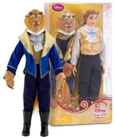 "Classic Doll -""Beauty and the Beast"" – The Beast 12″"
