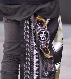 Skinny Jeans, HDG scarf