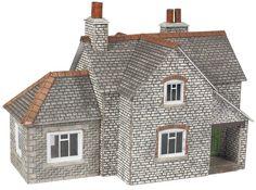 PN951 Metcalfe N Gauge Scale Model Railway Manor Farm Buildings Card Kit New
