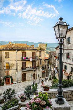 Postcard from Italy (Cusano Mutri, Campania)