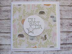 Baby & Geburt - XL Babykarte - ein Designerstück von Inifee bei DaWanda