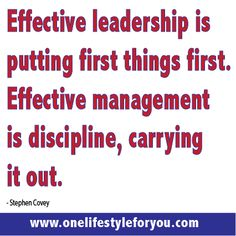 Effective Leadership  www.onelifestyleforyou.com  online business opportunity, work from home, success education, personal leadership development