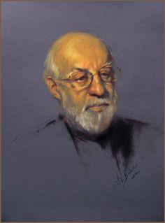 daniel greene artist | Portrait of artist Daniel Greene, by Igor Babailov