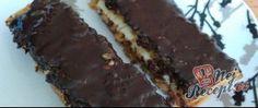 Recept Ovesné řezy s banánem polité hořkou čokoládou Food, Essen, Meals, Yemek, Eten