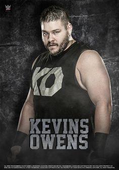 WWE Kevin Owens 2016 Poster by edaba7.deviantart.com on @DeviantArt