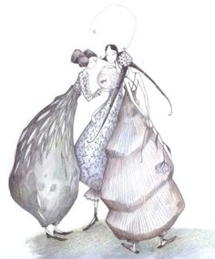 gaelle Boissonnard Illustrations, Illustration Art, Creation Art, Art Sculpture, Human Art, Whimsical Art, Figure Painting, Doodle Art, Watercolor Flowers