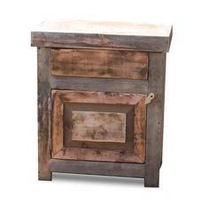 Small Barnwood Vanity 17314 by FoxDenDecor on Etsy