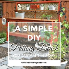A simple DIY Potting