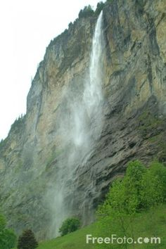 5: Staubbach falls Switzerland