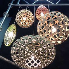 Cool upshot of @DavidTrubridge #lighting from Hut K #design