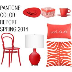 Pantone Color Report Spring 2014 - Cayenne - Polyvore