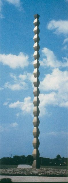 Brancusi, Endless Column