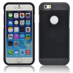 TecHERE ProArmor - Custodia ultra resistente per Apple iPhone 6 (4,7'') - Armor Cover Case antiurto - Pellicola protettiva per schermo e panno in microfibra inclusi - Garanzia 100% soddisfatti o rimborsati - Colore Nero TecHERE http://www.amazon.it/dp/B00OQX3M2U/ref=cm_sw_r_pi_dp_wz9sub0V4Y4AC