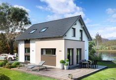Edition 2 V5 - Bien Zenker - http://www.hausbaudirekt.de/haus/edition-2-v5/ - Fertighaus als Einfamilienhaus Modernes Haus Stadthaus mit Satteldach