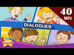 Good morning+More Kids Dialogues | Learn English for Kids | Collection of Easy Dialogue - YouTube