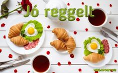 Breakfast for Two jigsaw puzzle Diet Food List, Food Lists, Croissants, Romantic Breakfast, Toddler Finger Foods, Puzzle Of The Day, Breakfast Cups, Party Platters, Drink Recipes