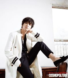 Jung Yong Hwa tells Cosmopolitan he isn't shy when it comes to dating