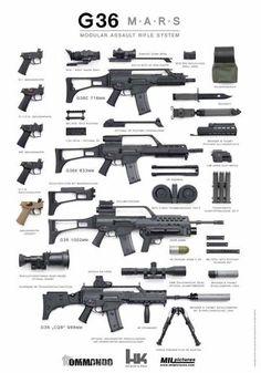 GUN P0RN: Heckler and Koch HK G36 Modular Rifle System