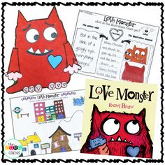 """Make a map of the story's setting- """"Love Monster"""""""