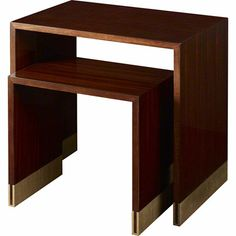 Baker Furniture : Cascade Nesting Tables - 8662 : Tables : Thomas Pheasant : Browse Products
