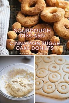 With a day's worth of sourdough discard, you can have these delicious donuts in 30 minutes! Fried in refined coconut oil instead of vegetable oil, then dusted with sweet cinnamon sugar, these soft and tender treats will be a frequent request in your home.