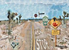 David Hockney - Pearblossom Highway