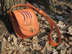 Leather Medieval Unisex Crossbody Bag Drakkar Fetish Handmade LARP Fantasy Gothic  #leather #leatherbag #handmade #drakkar #viking #medievalbag