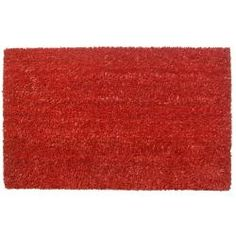 @Overstock - This beautifully designed doormat will enhance your entry way or patio. Made with fade-resistant dyes and dirt-trapping natural coconut fibers, the doormat features a non-slip backing.  http://www.overstock.com/Home-Garden/Simply-Red-Non-slip-Coir-Doormat/6534509/product.html?CID=214117 $33.49