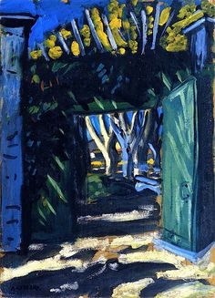 The Green Gate Auguste Chabaud - 1909