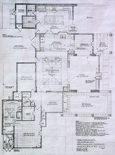 Mexican-style Courtyard House Plans - Find Pdf documents