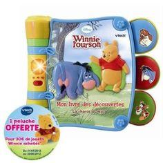 Vtech - 119105 - Winnie - Mon Livre des Découvertes: Amazon.fr: Bébés & Puériculture