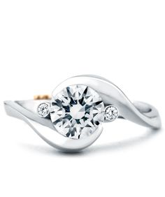 New Mark Schneider engagement ring. www.runyansjewelers.com