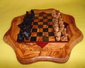 Chessboard with Pawns olivewood  $32.88 USD+shipping