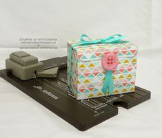 Stamp & Create With Sabrina: New Punch Board!