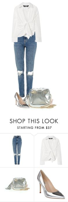 """Untitled #1100"" by julianne28 on Polyvore featuring Topshop, Jacquemus, Victoria's Secret and L.K.Bennett"
